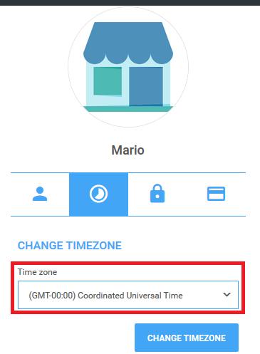 Managing timezone