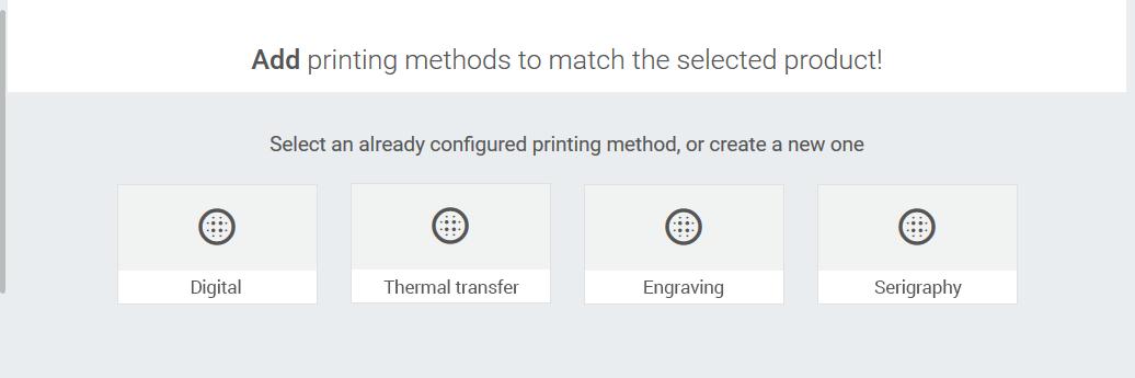 Window of printing methods